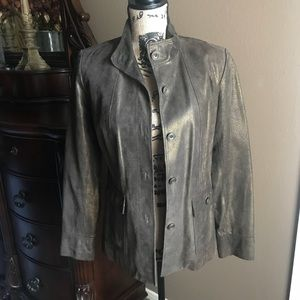Bronze Leather Jacket